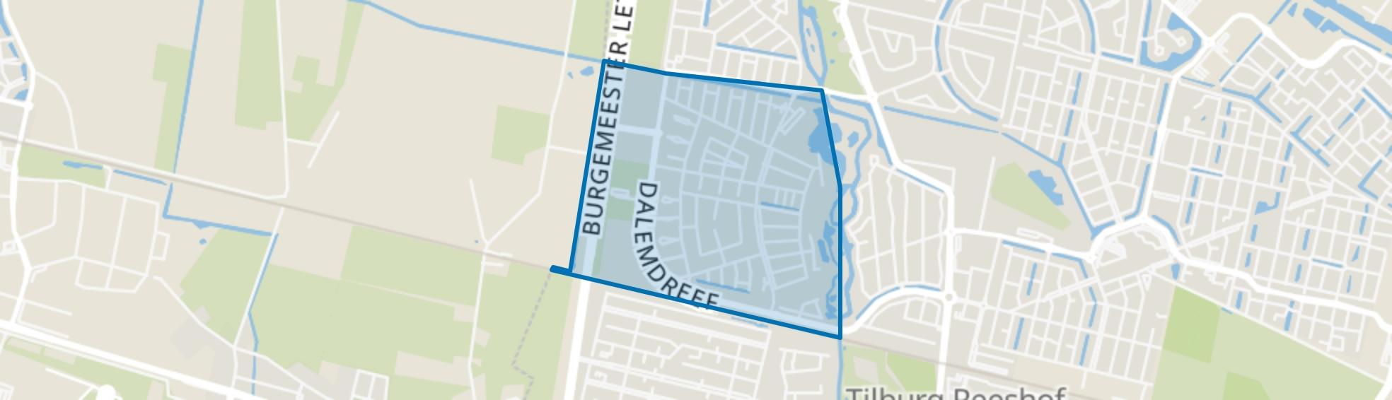 Dalem Zuid, Tilburg map