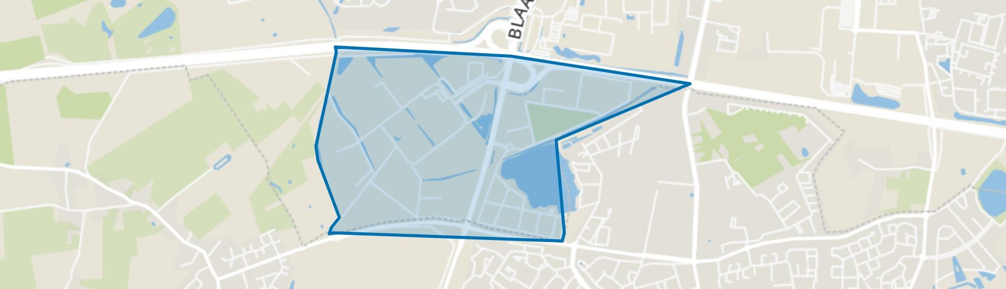 De Katsbogten, Tilburg map
