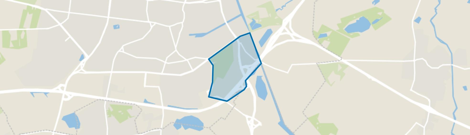 De Leij, Tilburg map