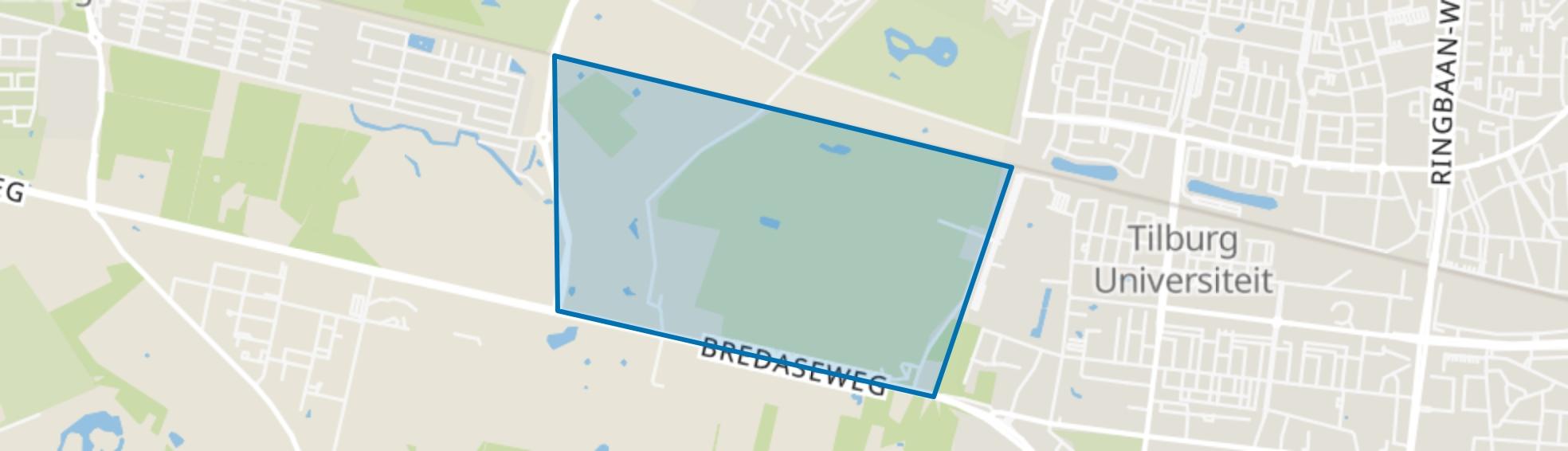 De Oude Warande, Tilburg map