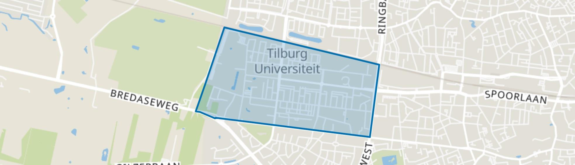 De Reit, Tilburg map