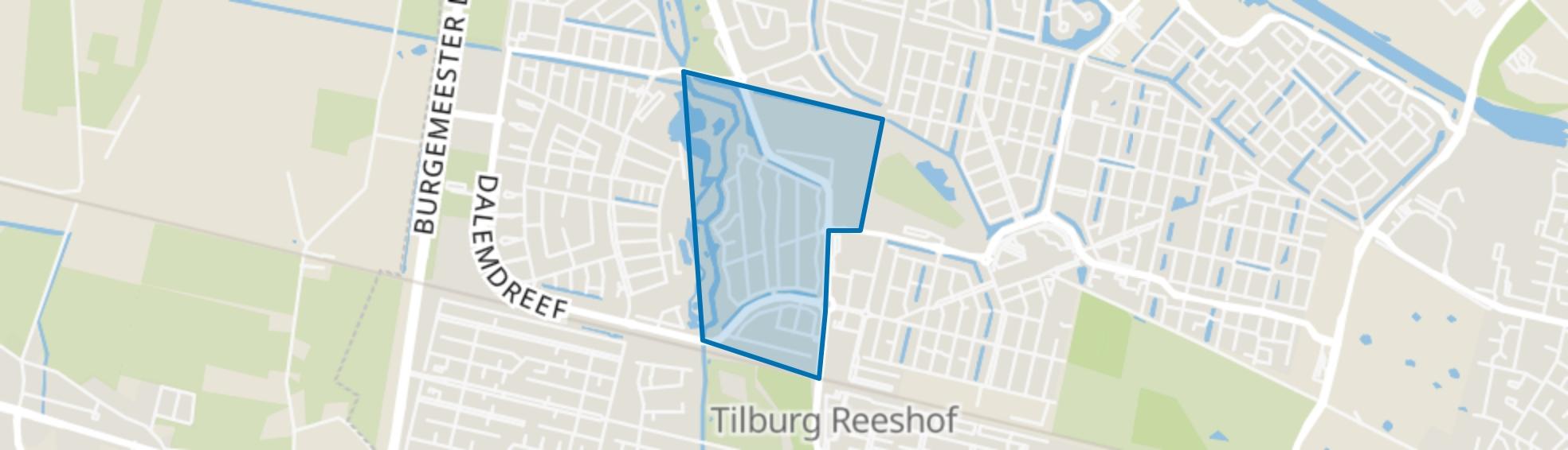 Dongewijk, Tilburg map