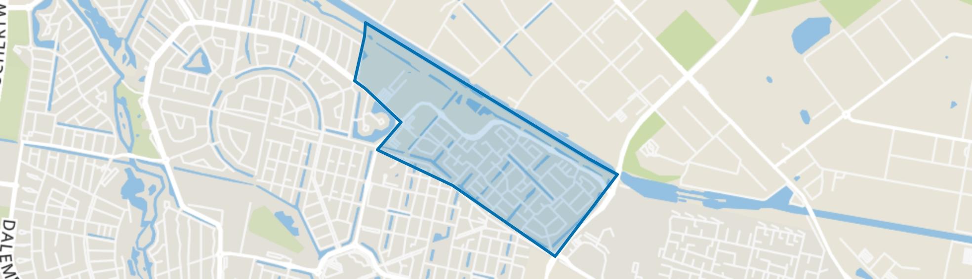 Gesworen Hoek, Tilburg map