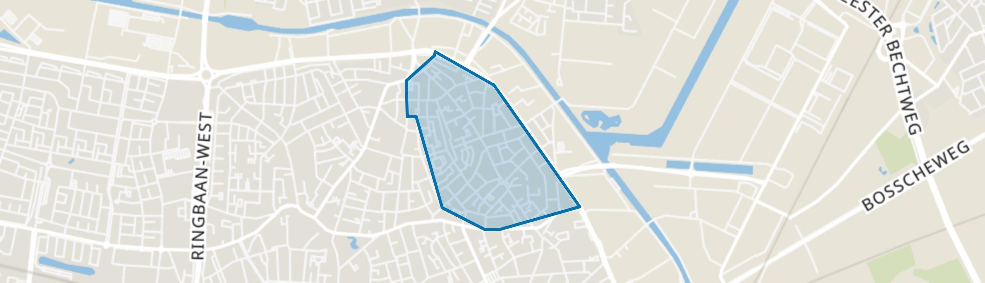 Groeseind-Hoefstraat, Tilburg map