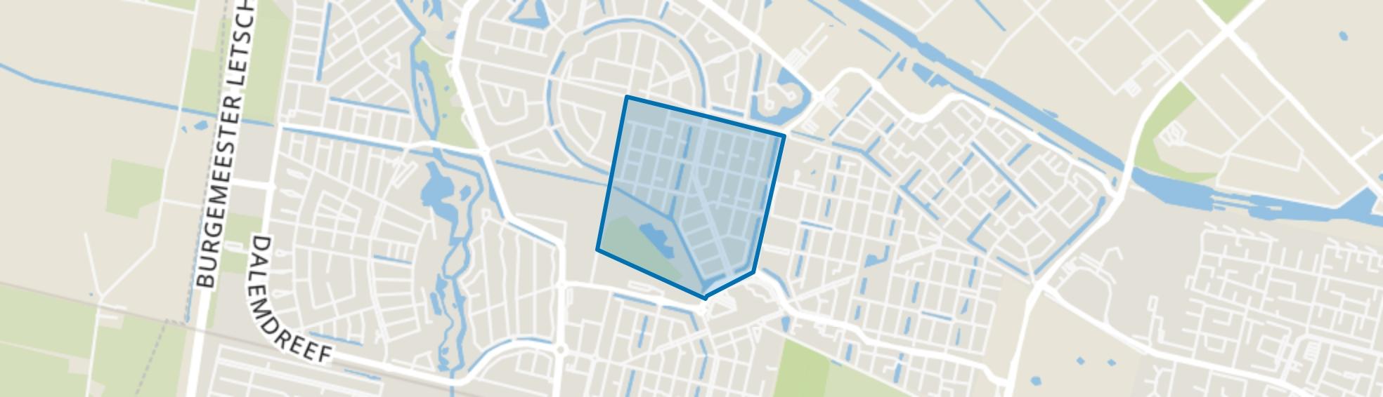 Heerevelden, Tilburg map