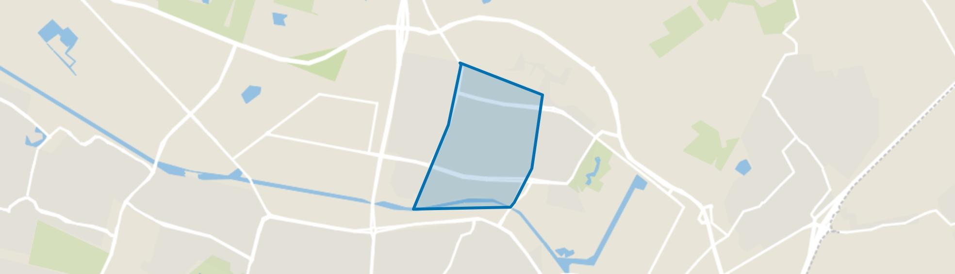 Heikant, Tilburg map