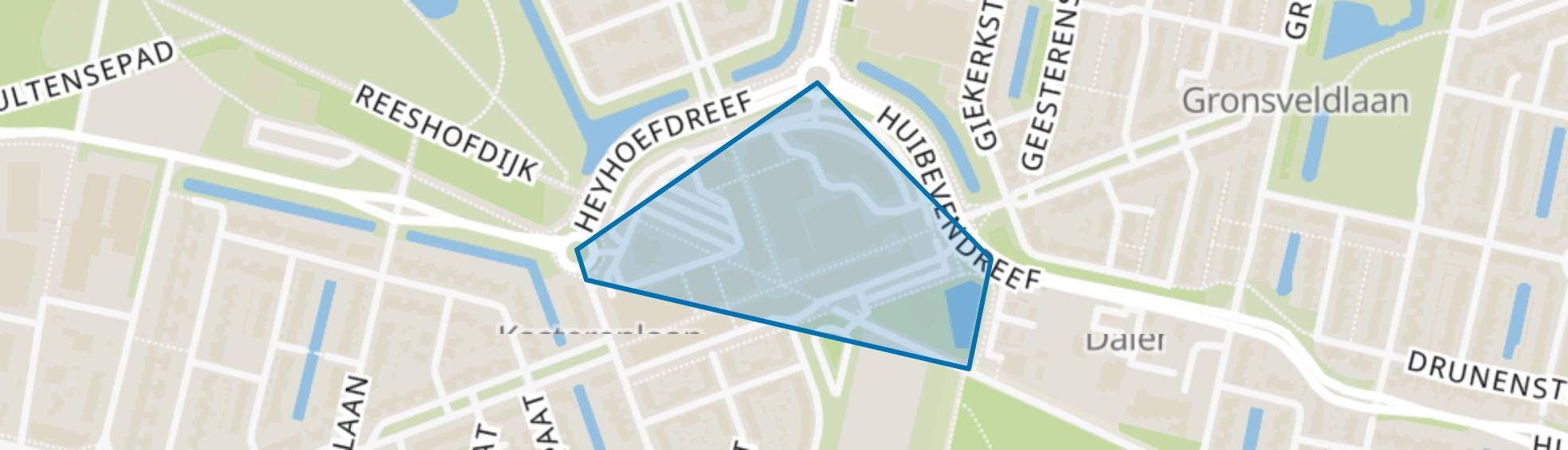 Heyhoef, Tilburg map