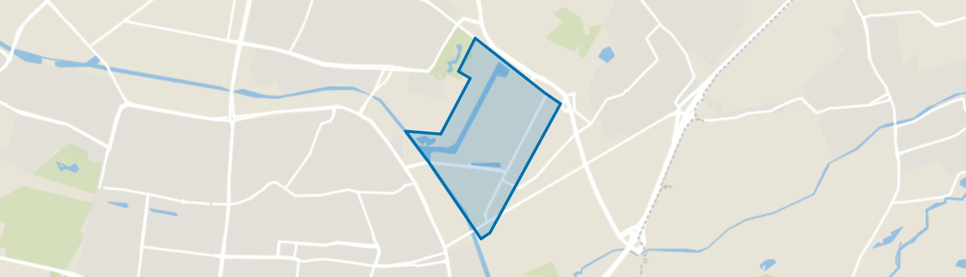 Ind.terrein Loven, Tilburg map