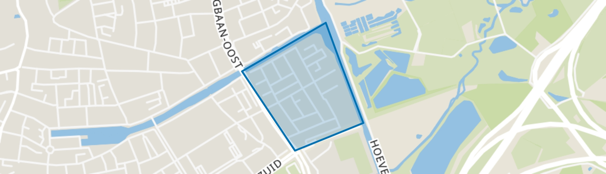 Jeruzalem, Tilburg map