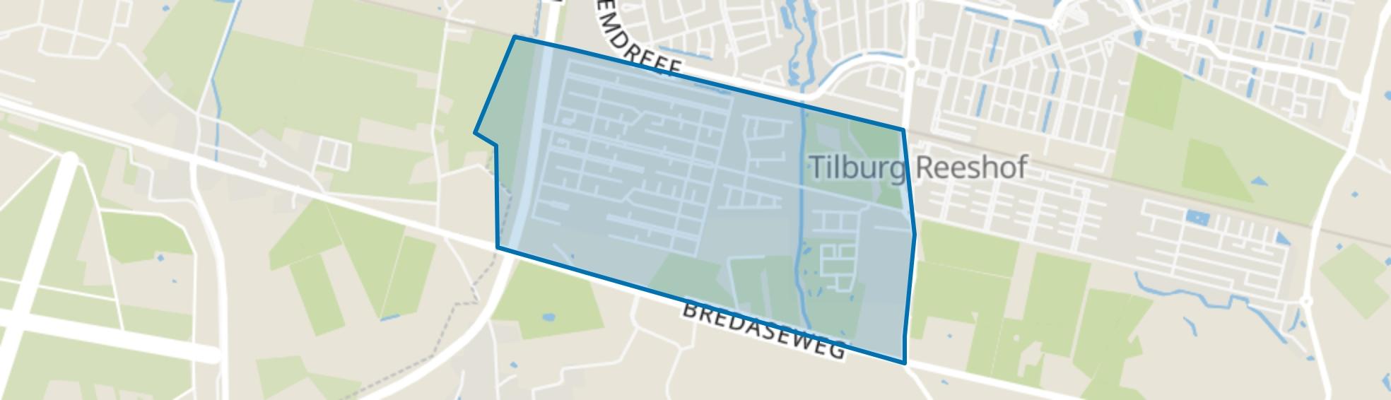 Koolhoven, Tilburg map