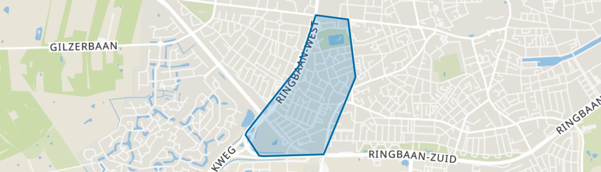 Korvel, Tilburg map