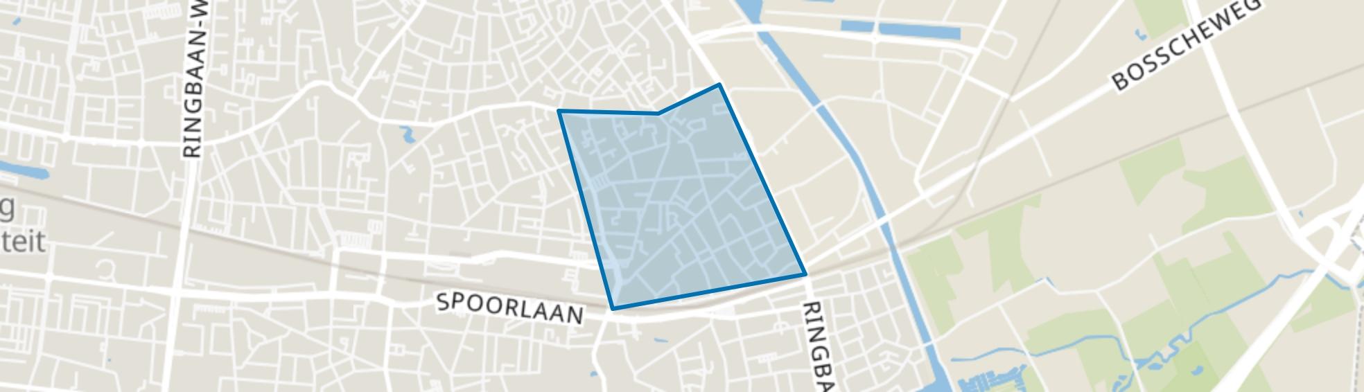 Loven-Besterd, Tilburg map