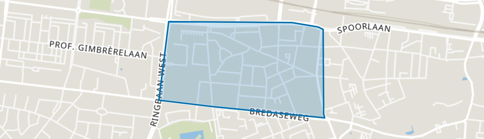 Noordhoek, Tilburg map