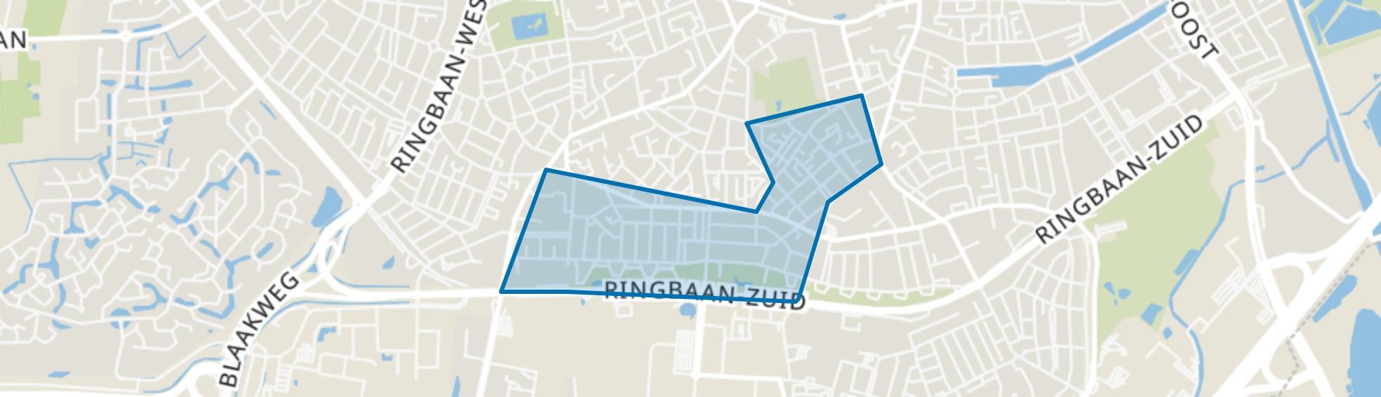 Oerle, Tilburg map