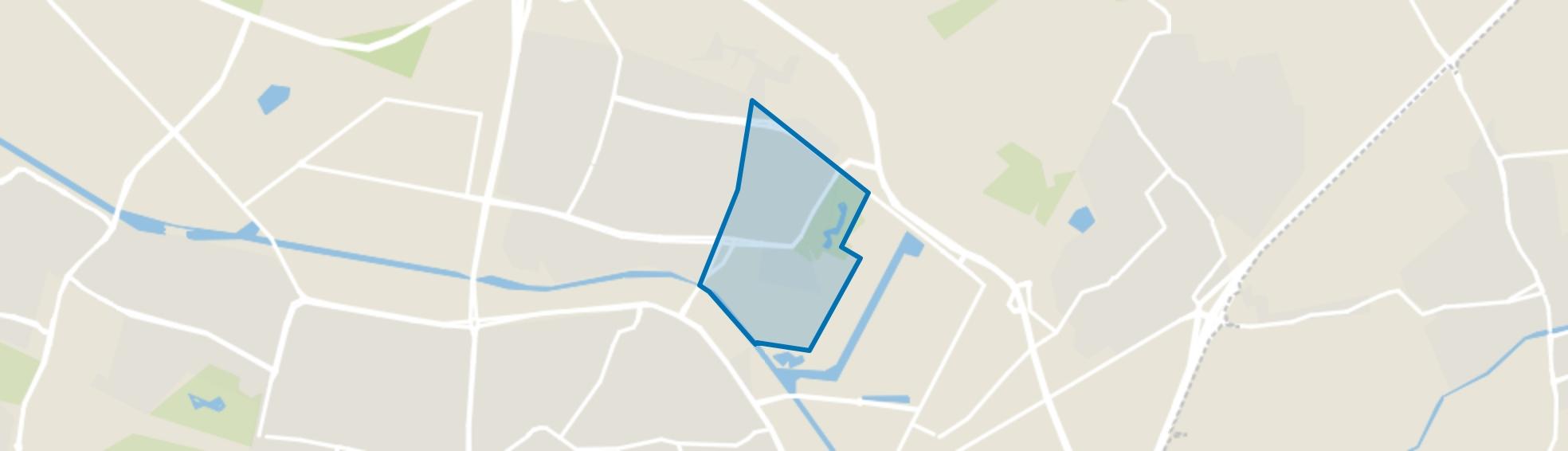 Quirijnstok, Tilburg map