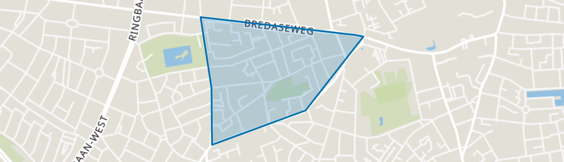 Sint Anna, Tilburg map