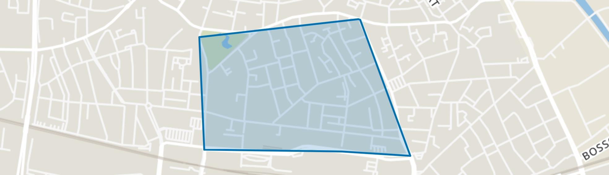 Theresia, Tilburg map