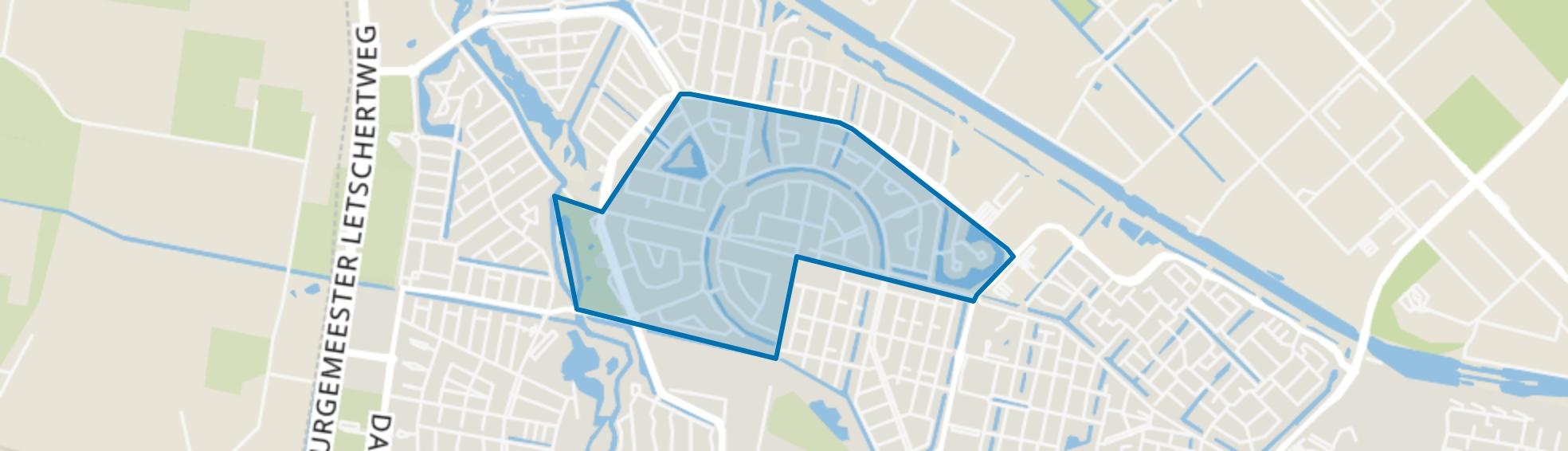 Tuindorp De Kievit, Tilburg map
