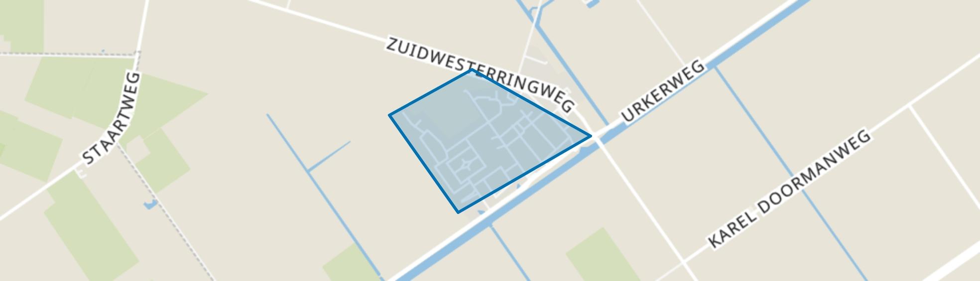 Tollebeek-woonkern, Tollebeek map