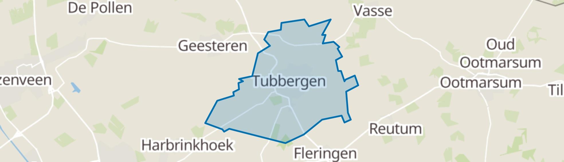 Tubbergen map