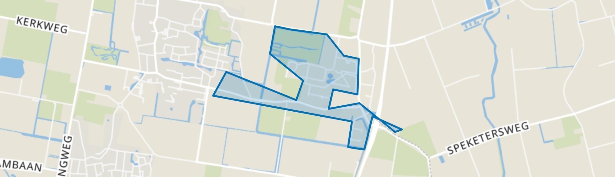 Kalverdijk, Tuitjenhorn map
