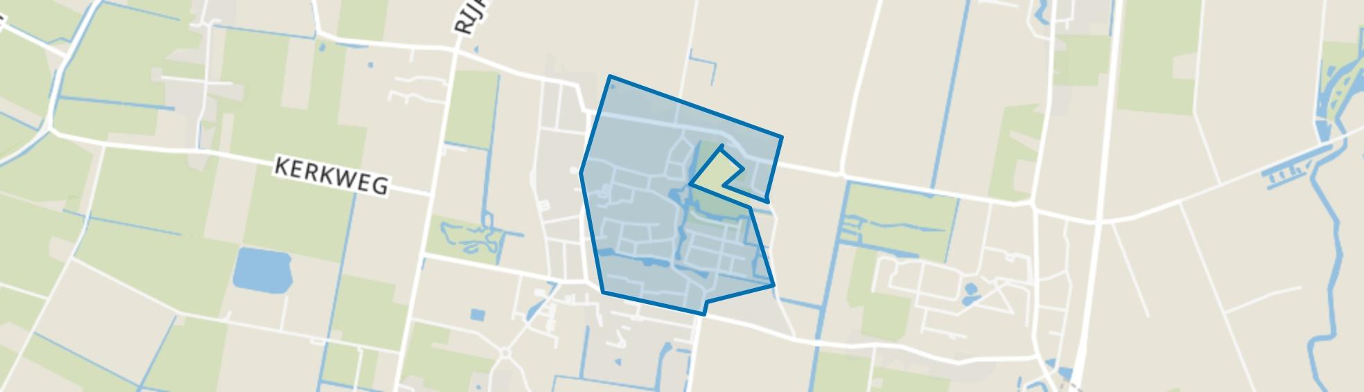 Tuitjenhorn-Centrum en Kerkbuurt, Tuitjenhorn map