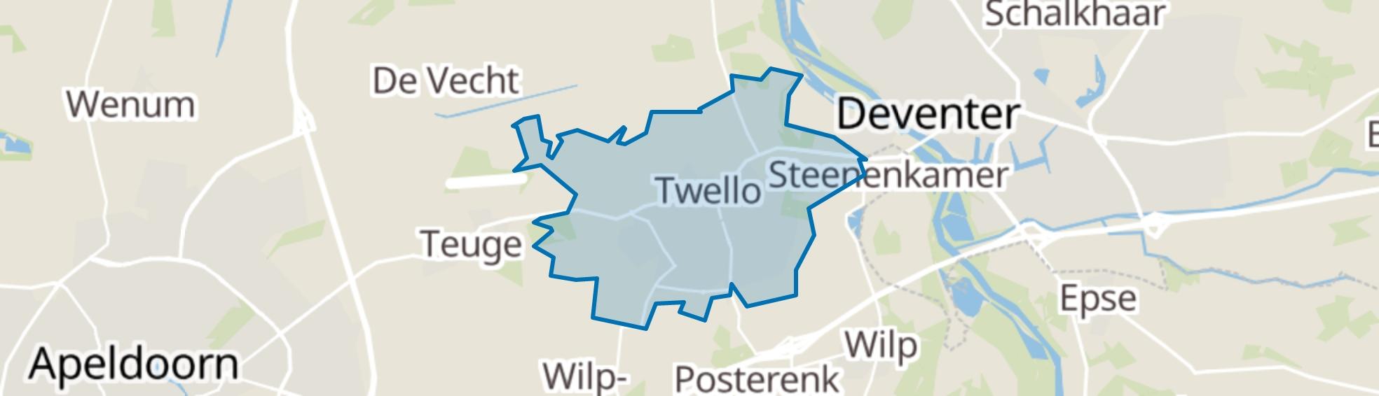 Twello map