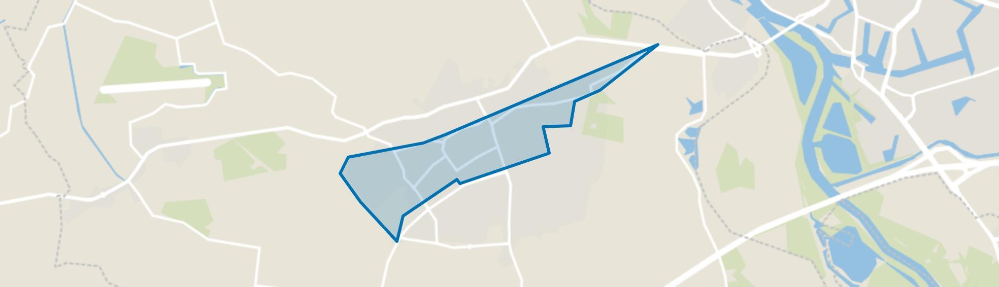 Twello-Midden, Twello map