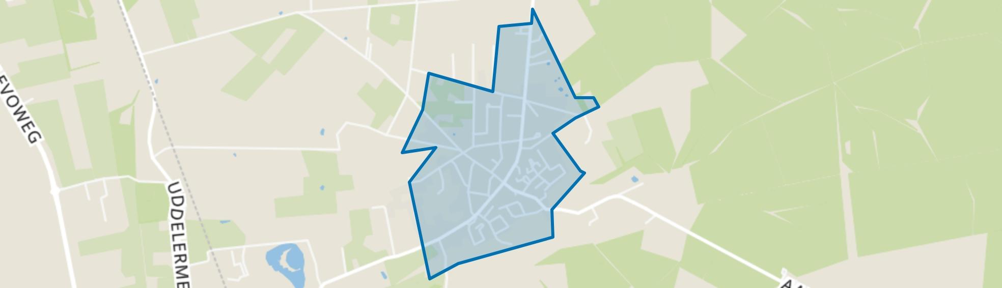 Uddel, Uddel map