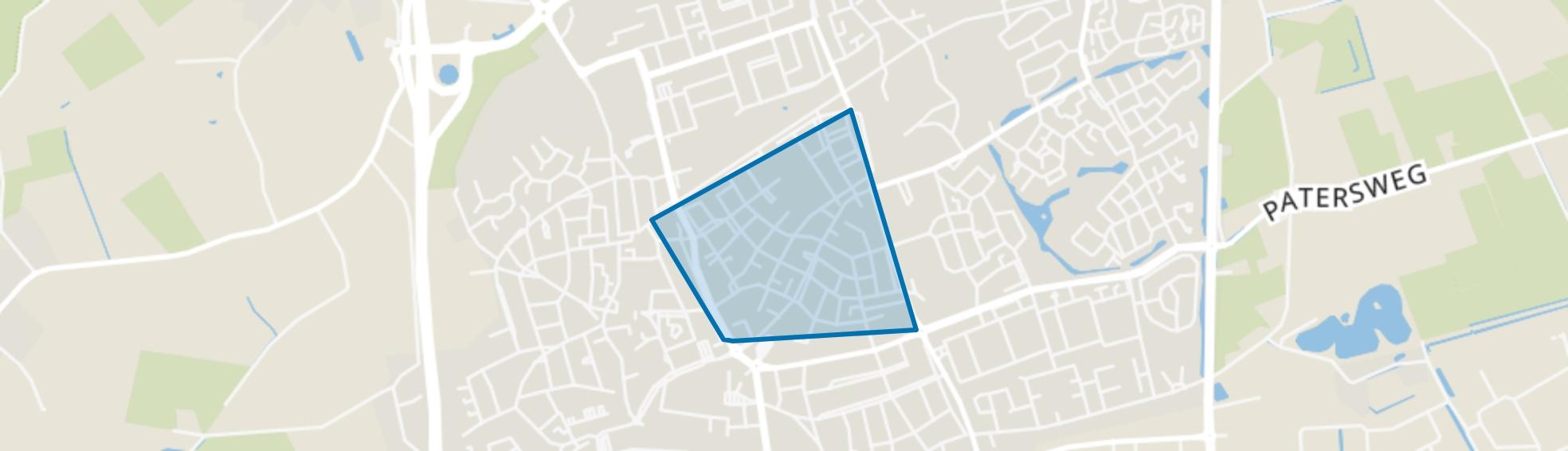 Hoevenseveld, Uden map