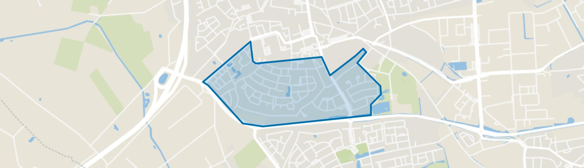 Zoggel, Uden map
