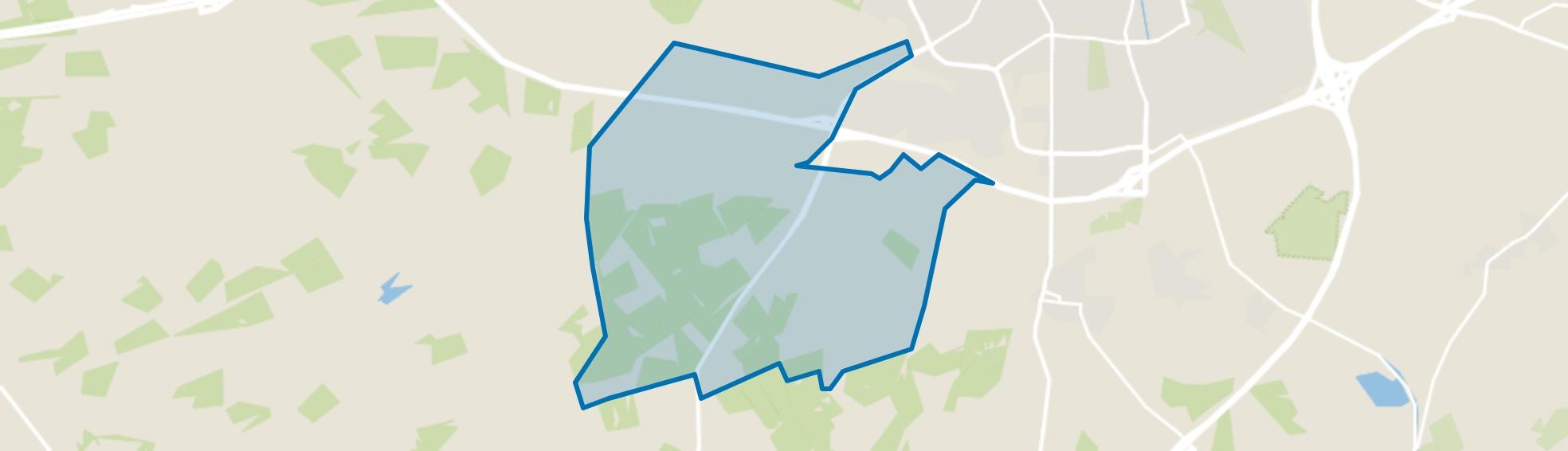 Bosgebied Ugchelen, Ugchelen map