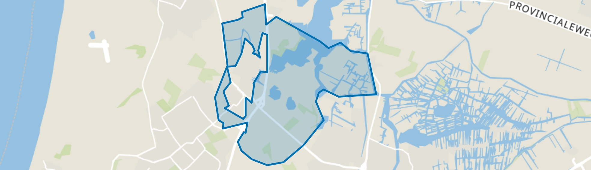 Buitengebied, Uitgeest map