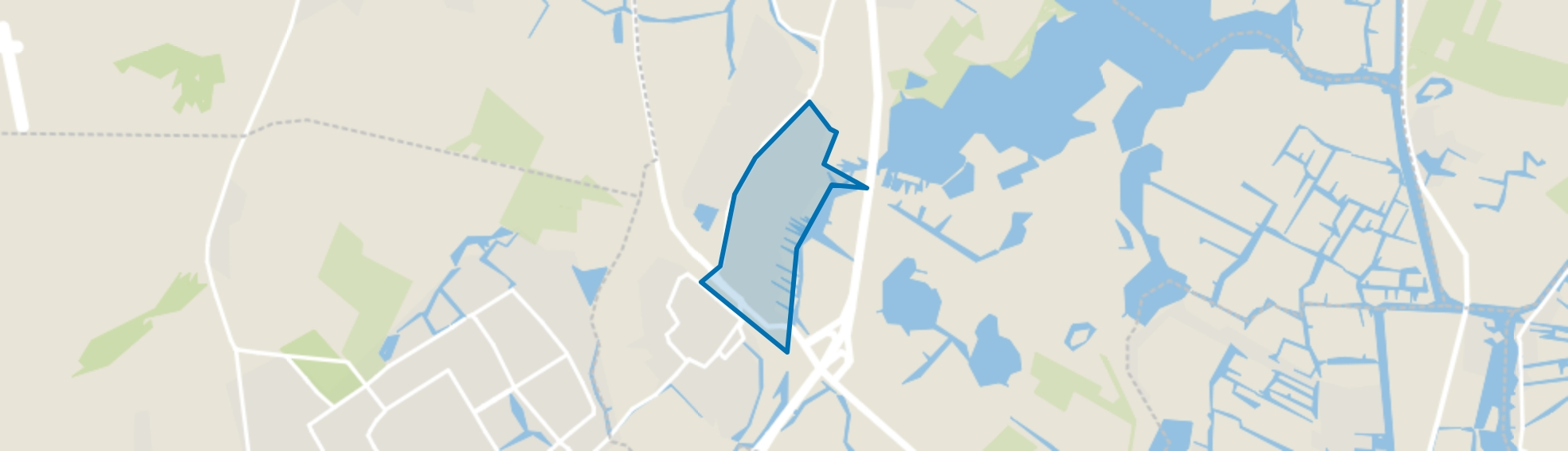 Oude Dorp, Uitgeest map