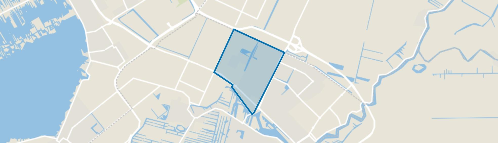 Legmeer, Uithoorn map