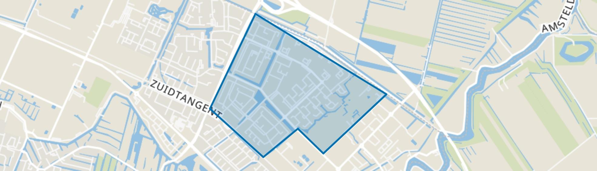 Zijdelwaard, Uithoorn map