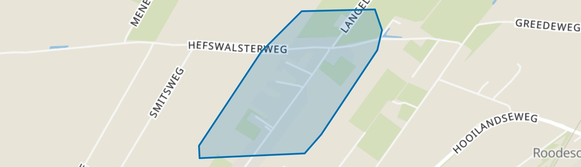 Hefswal, Uithuizermeeden map