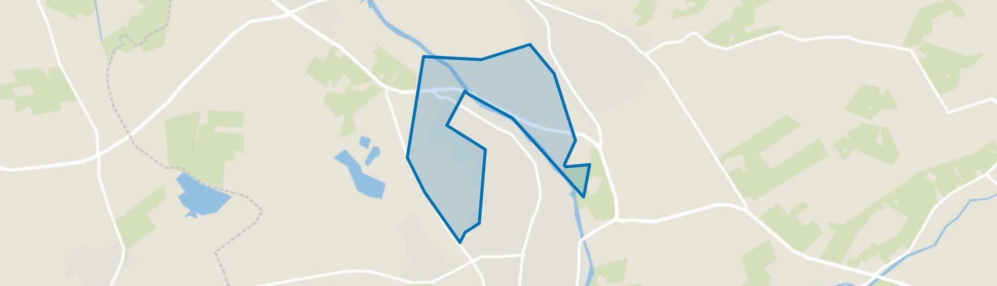 Verspreide huizen Ulft, Ulft map