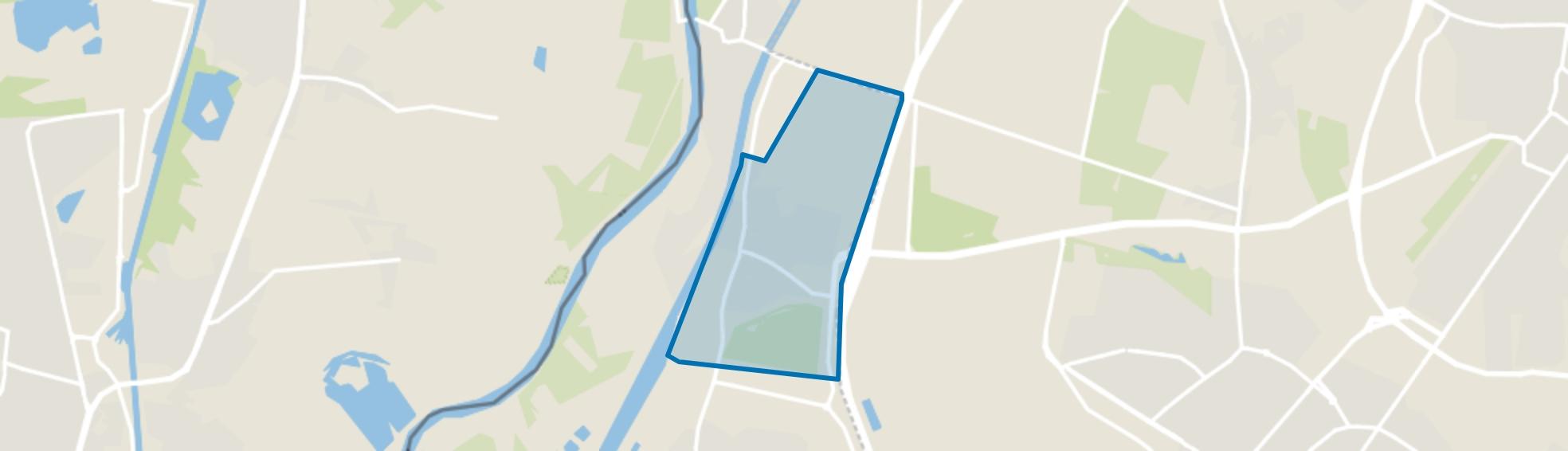Urmond ten oosten van Julianakanaal, Urmond map