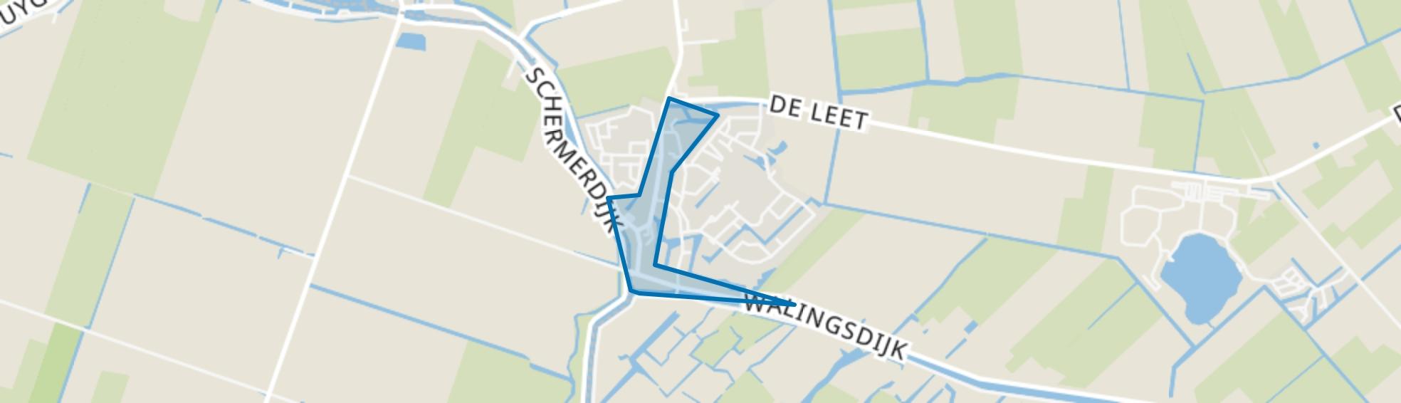 Drechterlandsedijk en omgeving, Ursem (Gem. Koggenland) map