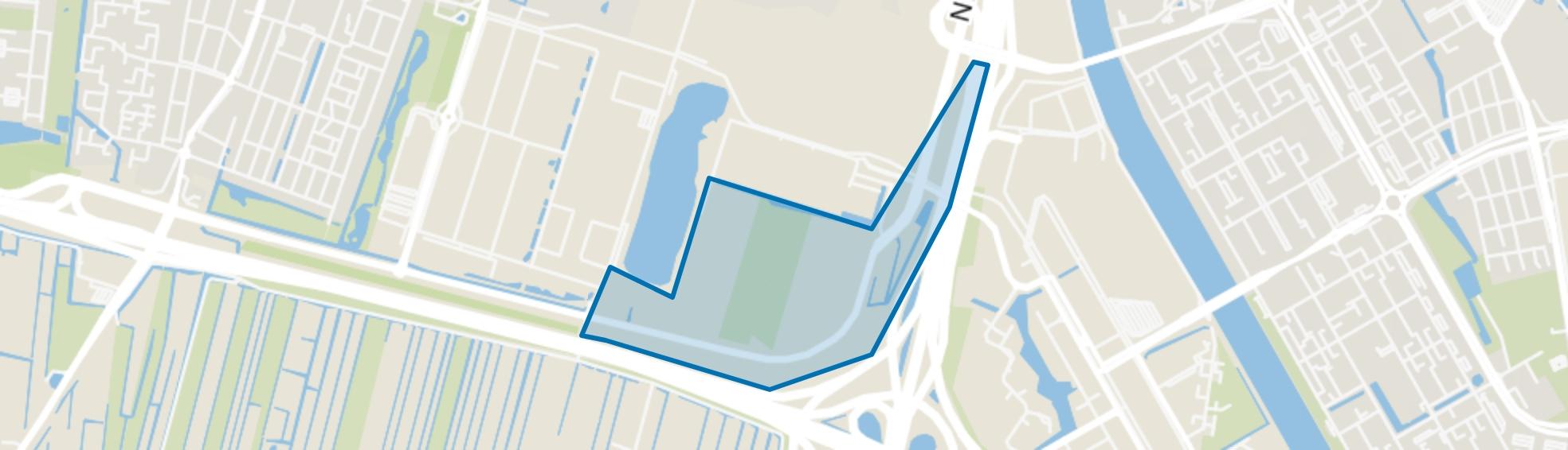 Bedrijvengebied Strijkviertel, Utrecht map