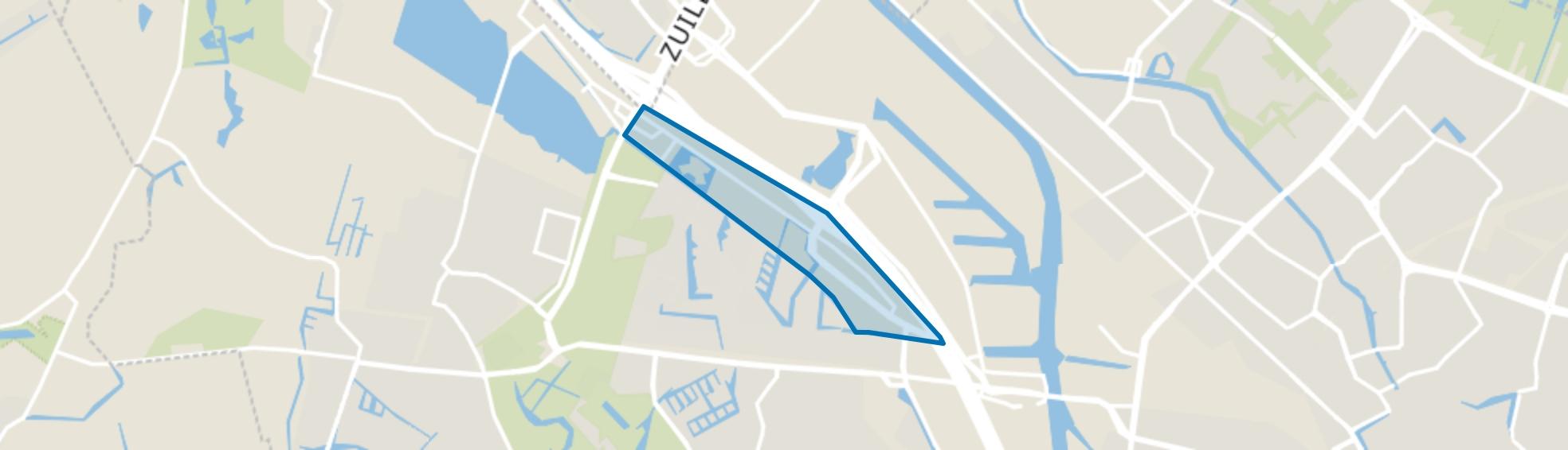 Bedrijventerrein De Wetering, Utrecht map