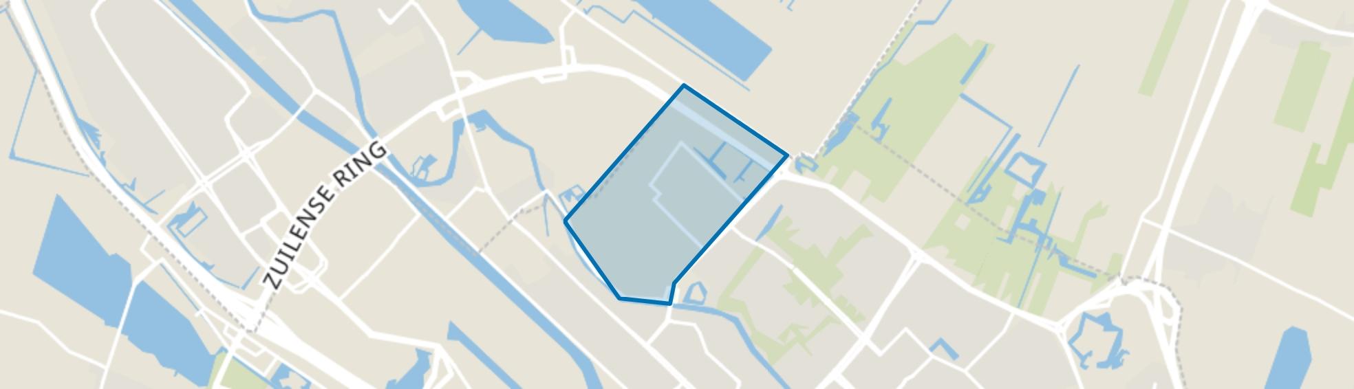 Bedrijventerrein en omgeving, Utrecht map