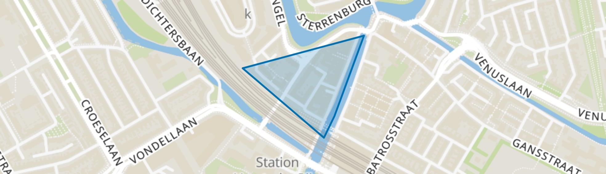 Bleekstraat en omgeving, Utrecht map