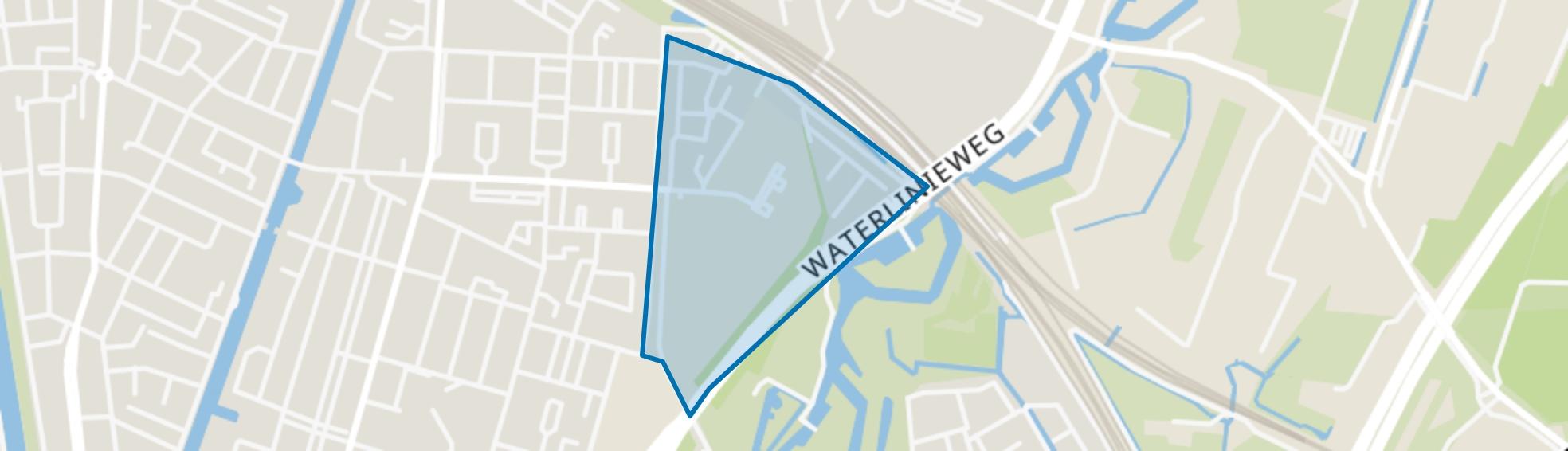 Bokkenbuurt, Utrecht map