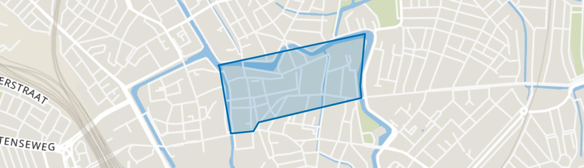 Breedstraat en Plompetorengracht en omgeving, Utrecht map