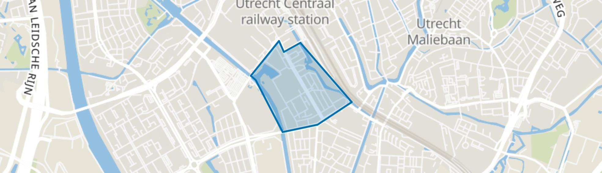Dichterswijk, Utrecht map
