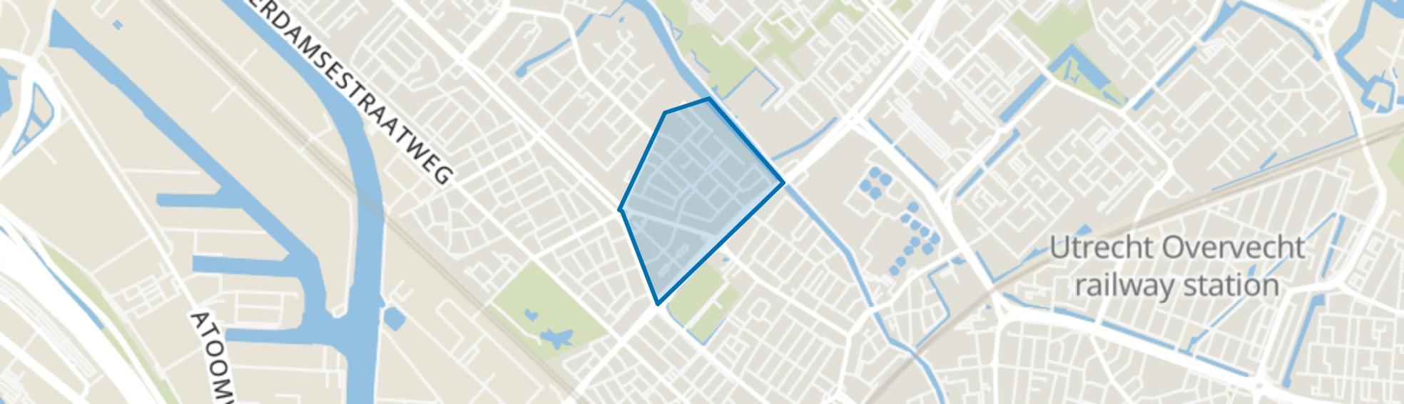 Geuzenwijk, Utrecht map