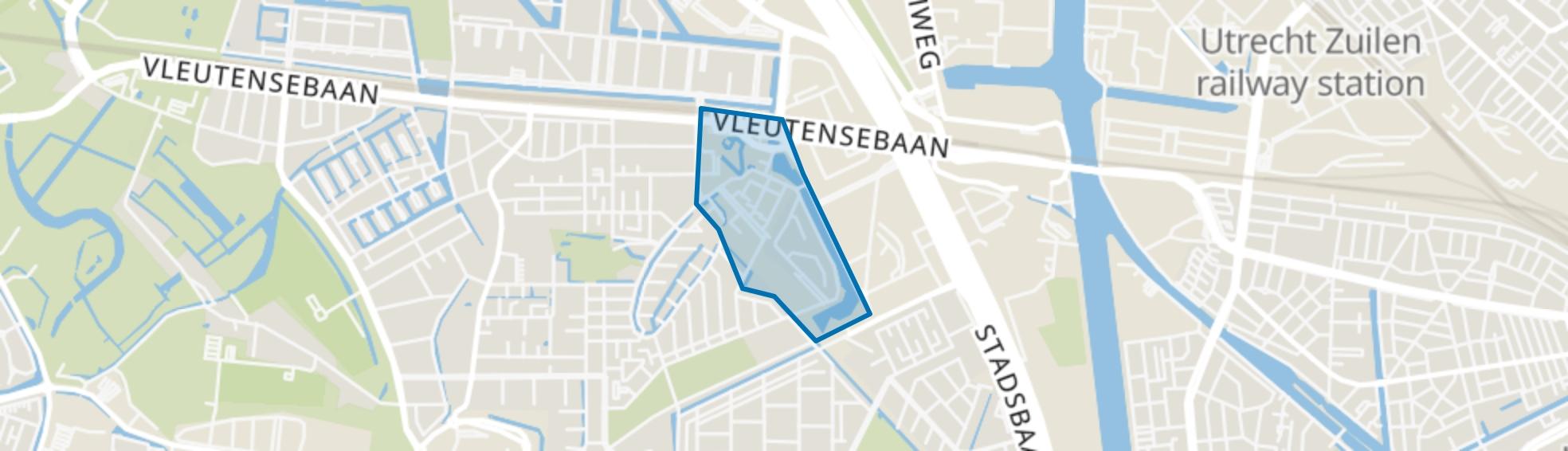 Grauwaart, Utrecht map