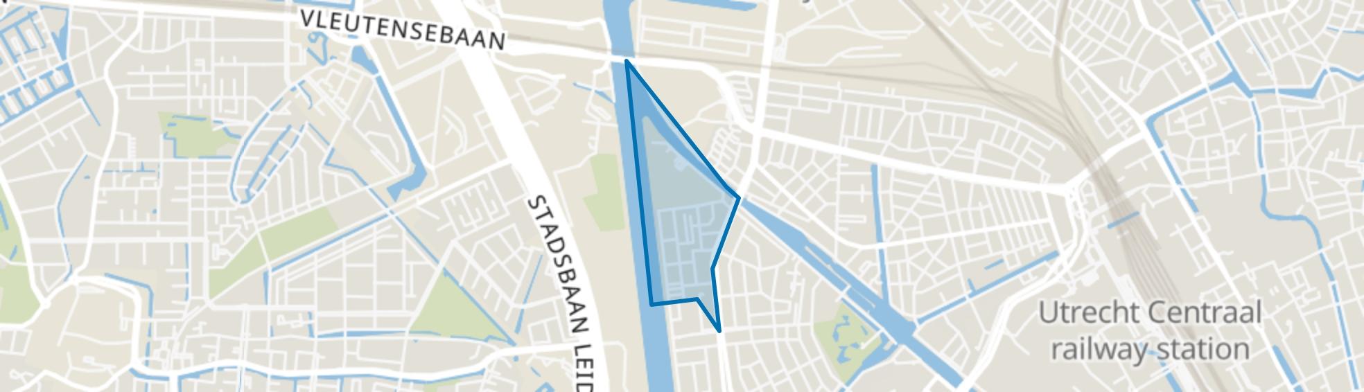 Halve Maan-Noord, Utrecht map